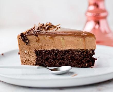 Mousse Kuchen mit Nutella